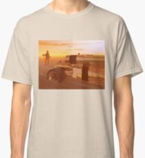 ARES CYBORG IN THE DESERT OF HYPERION,Sci Fi Classic T-Shirt