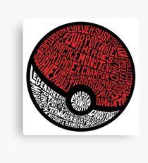 wild pokemon Canvas Print