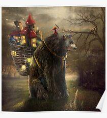 """""""A Bear Who Carried A Kingdom"""" Poster"""