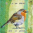 Joy Bird by Eva Crawford