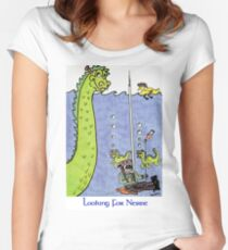 Looking for Nessie Women's Fitted Scoop T-Shirt
