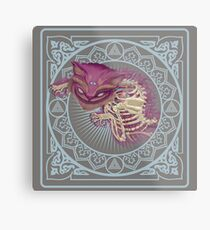 The Cheshire Cat  Metal Print