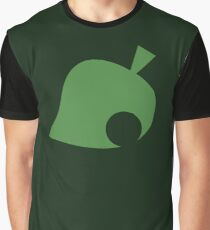Animal Crossing Leaf Graphic T-Shirt