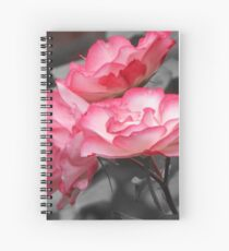 Two-tone Rose Spiral Notebook