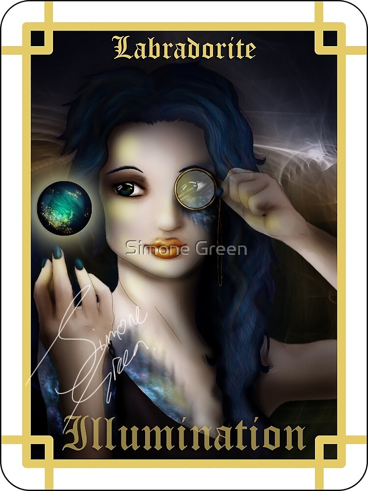 Gemstone Oracle Card - Illumination by Simone Green