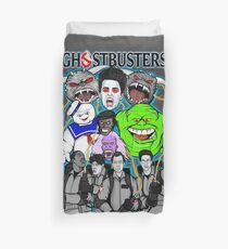Ghostbusters villains collage Duvet Cover