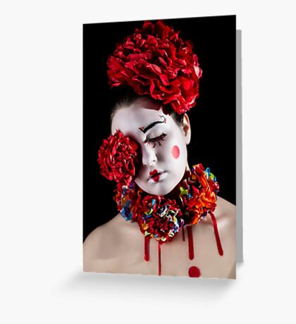 ~ Amorina the Clown ~ Greeting Card