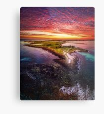 Griffiths Island, Port Fairy Metal Print