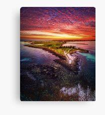 Griffiths Island, Port Fairy Canvas Print