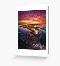 Griffiths Island, Port Fairy Greeting Card