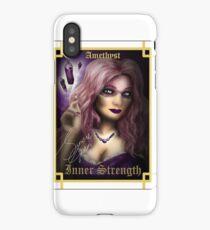 Gemstone Oracle Card - Inner Strength iPhone Case
