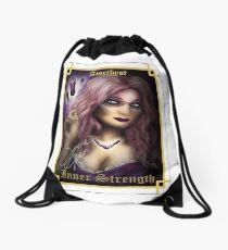 Gemstone Oracle Card - Inner Strength Drawstring Bag