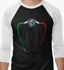Alfa of Birmingham Tricolore Men's Baseball ¾ T-Shirt