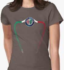 Alfa of Birmingham Tricolore T-Shirt