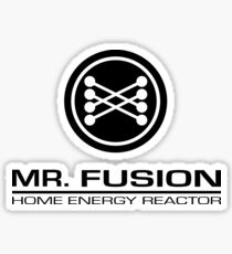 Mr. Fusion Home Energy Reactor Sticker