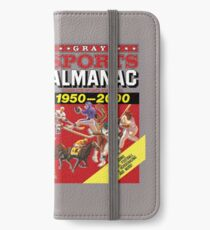 Grays Sports Almanac Complete Sports Statistics 1950-2000 iPhone Wallet/Case/Skin