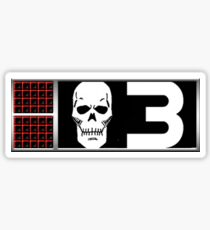 BioChip 3 - Bagman Sticker