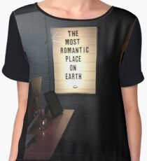 The Most Romantic Place on Earth Women's Chiffon Top