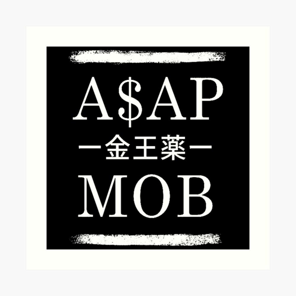 Asap Rocky Mob Lámina artística