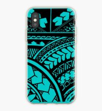 Polynesischer Hawaiianer Überall Stammesdruck iPhone-Hülle & Cover