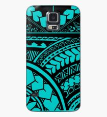 Polynesian Hawaiian All over tribal print Case/Skin for Samsung Galaxy