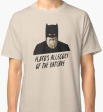 Plato's Allegory of the Batcave Classic T-Shirt