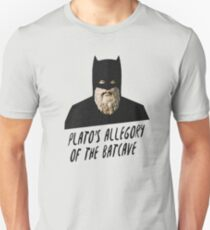 Plato's Allegory of the Batcave Unisex T-Shirt