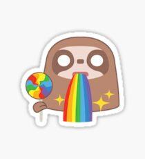 Rainbow Sloth Snapchat Sticker