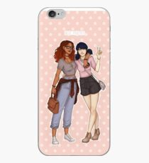 Alya and Marinette - Best Friends iPhone Case