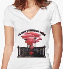 Velvet Underground geladen Shirt mit V-Ausschnitt