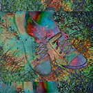 Tennis Shoes ~ Throw Pillow by Penny Odom