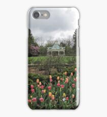 Cloudy Day At Mill Creek Park iPhone Case/Skin