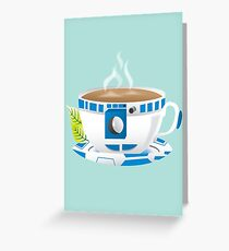 R2-TEA2 Greeting Card
