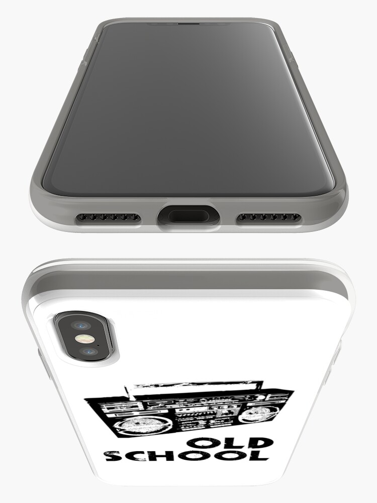 Alternate view of Old School - Boom Box  iPhone Case & Cover