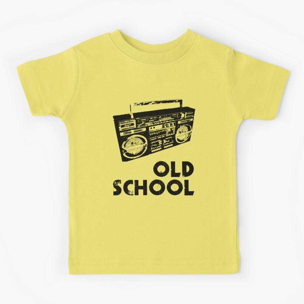 Old School - Boom Box  Kids T-Shirt
