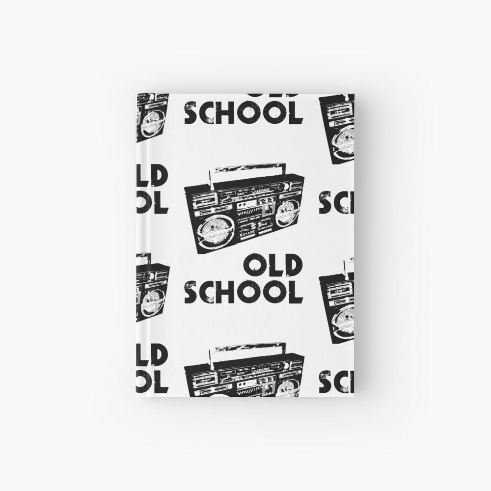 Old School - Boom Box  Hardcover Journal