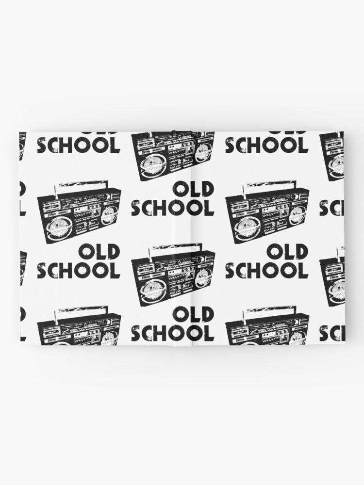 Alternate view of Old School - Boom Box  Hardcover Journal