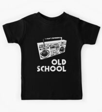 Old School - Boom Box Kids Tee