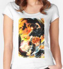 Haikyuu - Hinata & Kageyama Women's Fitted Scoop T-Shirt