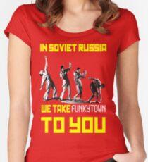 Soviet Disco Women's Fitted Scoop T-Shirt