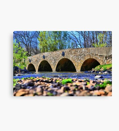Meadows Road Bridge Canvas Print