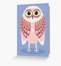 OWL SCOWL  Greeting Card