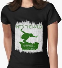 Into The Wild Women's Fitted T-Shirt