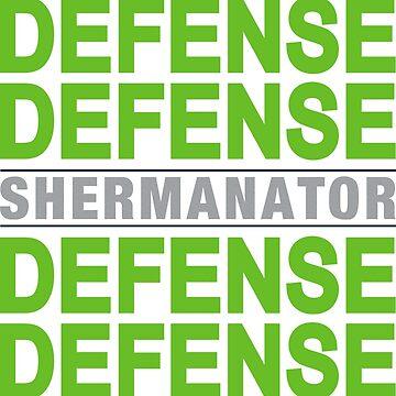 Shermanator Defense by Sportswear