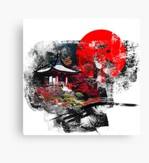 Kyoto Abstract Canvas Print