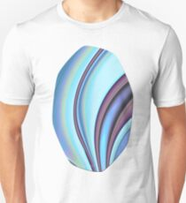 Abstract Fractal Colorways 02PrBl Unisex T-Shirt