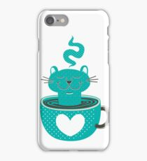 Cat in a Cup iPhone Case/Skin