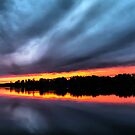 Sunset August 6, 2015 by Tom Gotzy