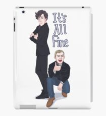 It's All Fine iPad Case/Skin