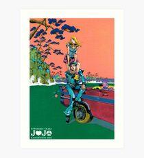 Jojolion-Ausstellung Kunstdruck